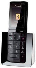 Panasonic KX-PRS120GW Teléfono fijo digital contestador inalámbrico pantalla LCD