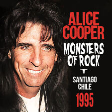 ALICE COOPER New Sealed 2019 UNRELEASED 1995 CHILE LIVE CONCERT CD