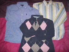 lot de Chemises Garcon 10-ans