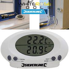 Silverline Digital Thermometer Indoor Outdoor Temperature Kitchen Probe Sensor