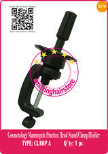 Lace Front Wigs Stand Cosmetology Mannequin Practice Head Holder/Stand/Clamp-1A