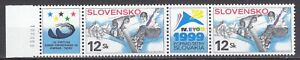 SLOVAKIA 1999 **MNH SC# 319  World Winter Universiad Games,European Youth