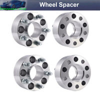 """4pc 2"""" Hubcentric Wheel Spacers for Jeep Grand Cherokee Wrangler Liberty 5x4.5"""