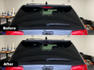 Crux Moto Third Brake Light Tint 20% Air Release fits Jeep Grand Cherokee 2014+