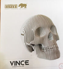 Cardboard Safari Large 3-D Human Skull Mint condition sealed in original package