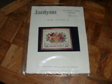 Janlynn Counted Cross Stitch Kit Friends are the Bounty of Life's Harvest New
