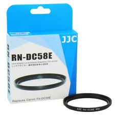 JJC 58mm Filter Adapter for Canon PowerShot G1 X Mark II replaces FA-DC58E