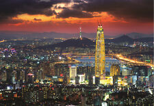 1000Piece Jigsaw Puzzle Korea Seoul Night View Hobby Home Decoration DIY
