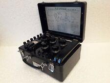 Soviet Device Impedance Bridge Resistance Box Resistor P333 Ussr Original Works