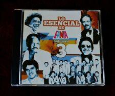 Lo Esencial De Fania Vol. 3 Hector Lavoe, fania Allstars, Larry Harlow (CD) LN