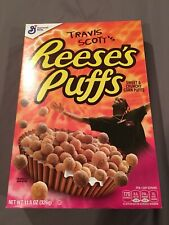 Travis scott reeses puffs cereal - Limited Edition