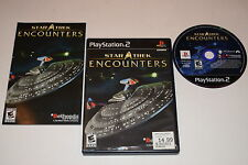 Star Trek Encounters Sony Playstation 2 PS2 Video Game Complete