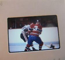 J C TREMBLAY Montreal Canadiens CLIFF KOROLL CHICAGO BLACK HAWKS SLIDE 4