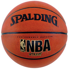 Spalding Nba Street Basketball Official nba size and weight orange 29.5 inch