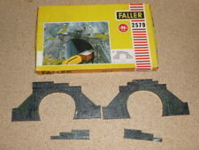 Faller 2579 Two Piece Railway Tunnel Portals Track N 9mm - UK Seller
