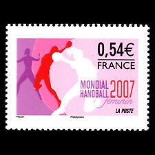 France 2007 - Women Handball World Championships Sports - Sc 3372 MNH