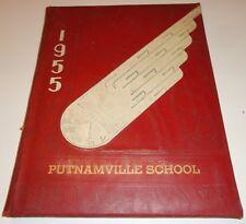 1955 Putnamville School Yearbook  Putnamville, Indiana