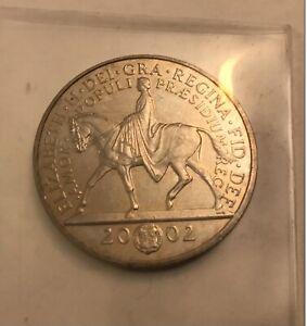 2002 UK £5 Five Pound Coin Queen Elizabeth