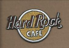 NEW 2 1/4 X 3 3/5 HARD ROCK CAFE IRON ON PATCH FREE SHIPPING P1