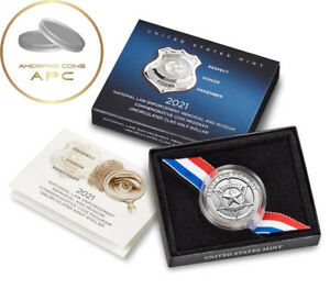 2021 National Law Enforcement Memorial and Museum Uncirculated Clad Half Dollar