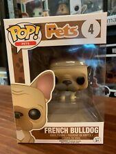 Pop Pets French Bulldog 4 Funko Pop Vinyl EXPERT PACKAGING