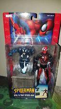 Spiderman Classics SPIN 'N TRAP Figure Marvel Legends 1/12 6 inch New TOYBIZ