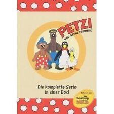 PETZI UND SEINE FREUNDE - DIE KOMPLETTE SERIE (BOX) 6 DVD NEU