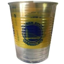NBA Golden State Warriors 16oz PLASTIC CUPS (25) ~ Birthday Party Supplies