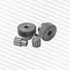 Zahnrad, Stirnrad, Modul 1, mit Nabe, aus Stahl C45, Zähnezahl 12 - 127