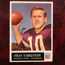 1965 Philadelphia Set FRAN TARKENTON #110 MINNESOTA VIKINGS NR-MINT *HIGH GRADE*