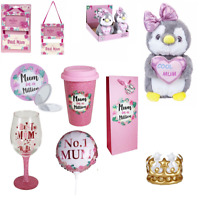 Mother's Day Birthday Gifts Presents - Plush Teddy/Mug/Badge/Photo Frame/Balloon