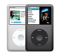 New Apple iPod Classic 7th Gen(160GB/256GB/1TB) Mp3 Player( Black/Silver)-Sealed