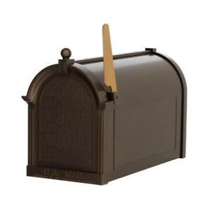 Whitehall Products Streetside Mailbox French Bronze Large Size Weather Resistant