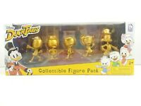 Phatmojo Disney Duck Tales GOLD Action Figures 5Pk Collectible Gift Toy