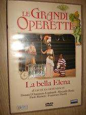 DVD LE GRANDI OPERETTE LA BELLA ELENA DI OFFENBACH LOMBARDI BOTTA RUMETZ PICCOLI