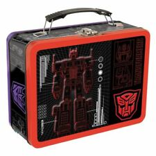Vandor Transformers Large Tin Tote 3.5 x 7.5 x 9 Inches (41370) Transformers 2
