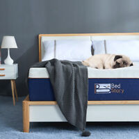 BedStory Lavender Memory Foam Mattress 12 Inch TWIN-Size Mattress CertiPUR-US