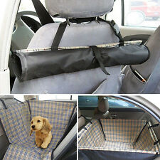 1pc Pet Car Rear Seat Cover Pad Hammock Cat Dog Protector Mat Blanket Waterproof