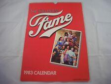 Fame 1983 Calendar