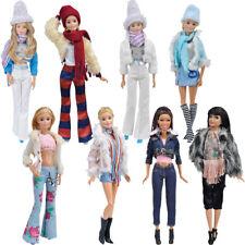 Puppen Kleidung Casual Bekleidung Kleider Rock Hose Accessoires für Barbie Doll