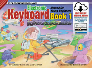 Progressive Keyboard Method For Young Beginners Book 1 - Same Day P+P