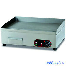 Griddle Grill Machine Warmer Electric Medium Stainless Commercial Restaurant