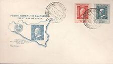 ITALIA BUSTA FDC CAPITOLIUM 1959 100° FRANC. SICILIA  ANNULLO SPECIALE PALERMO