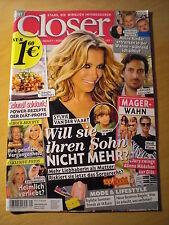 Closer Sylvie Meis Sarah Jessica Parker Mario Götze George Clooney Jürgen Klopp