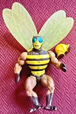 VTG 1983 Buzz Off MOTU Masters of the Universe He-Man Figure w/Helmut