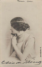 Actress And Dancer Cleo De Merode Original Antique Photo Postcard