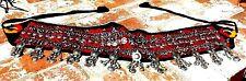 KUCHI AFGHAN TRIBAL BELLY DANCE GYPSY BOHO VINTAGE BELT COSTUME FREE SHIPPING