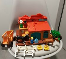 fisher price 934 - western town - année 1982