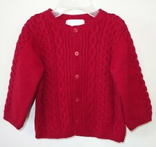 NWT Janie &  Jack First Christmas Cardigan Sweater Size 6-12 Month