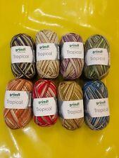 Wolle , TROPICAL ( Gründl), SOCKENWOLLE mit Baumwolle